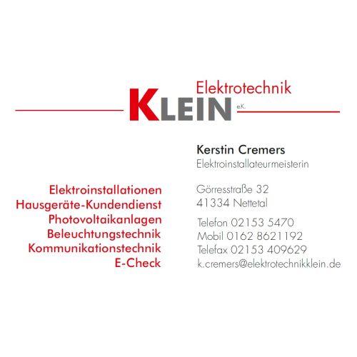 Elektrotechnik Klein_Homepage