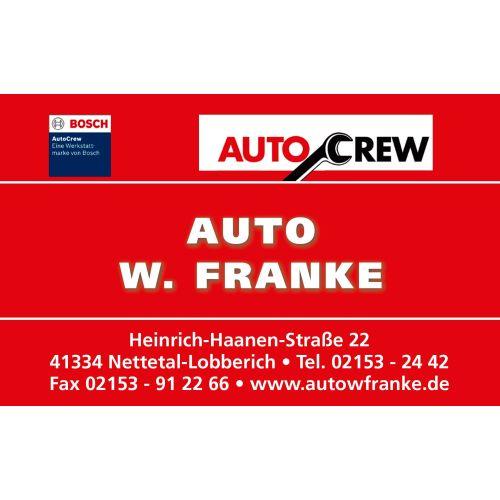 Auto W. Franke Homepage