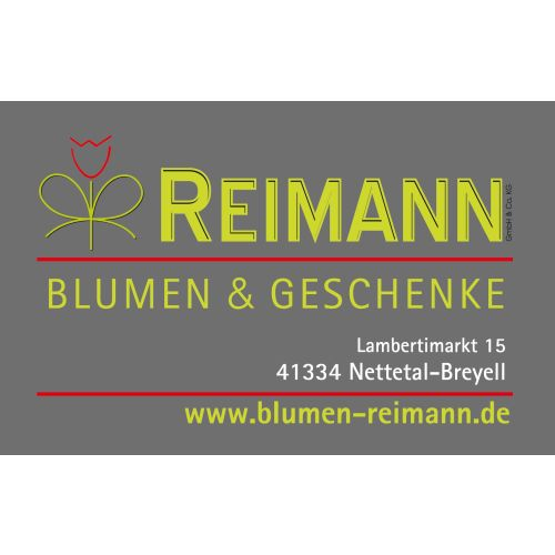 Reimann Blumen & Geschenke GmbH & Co. KG_Homepage
